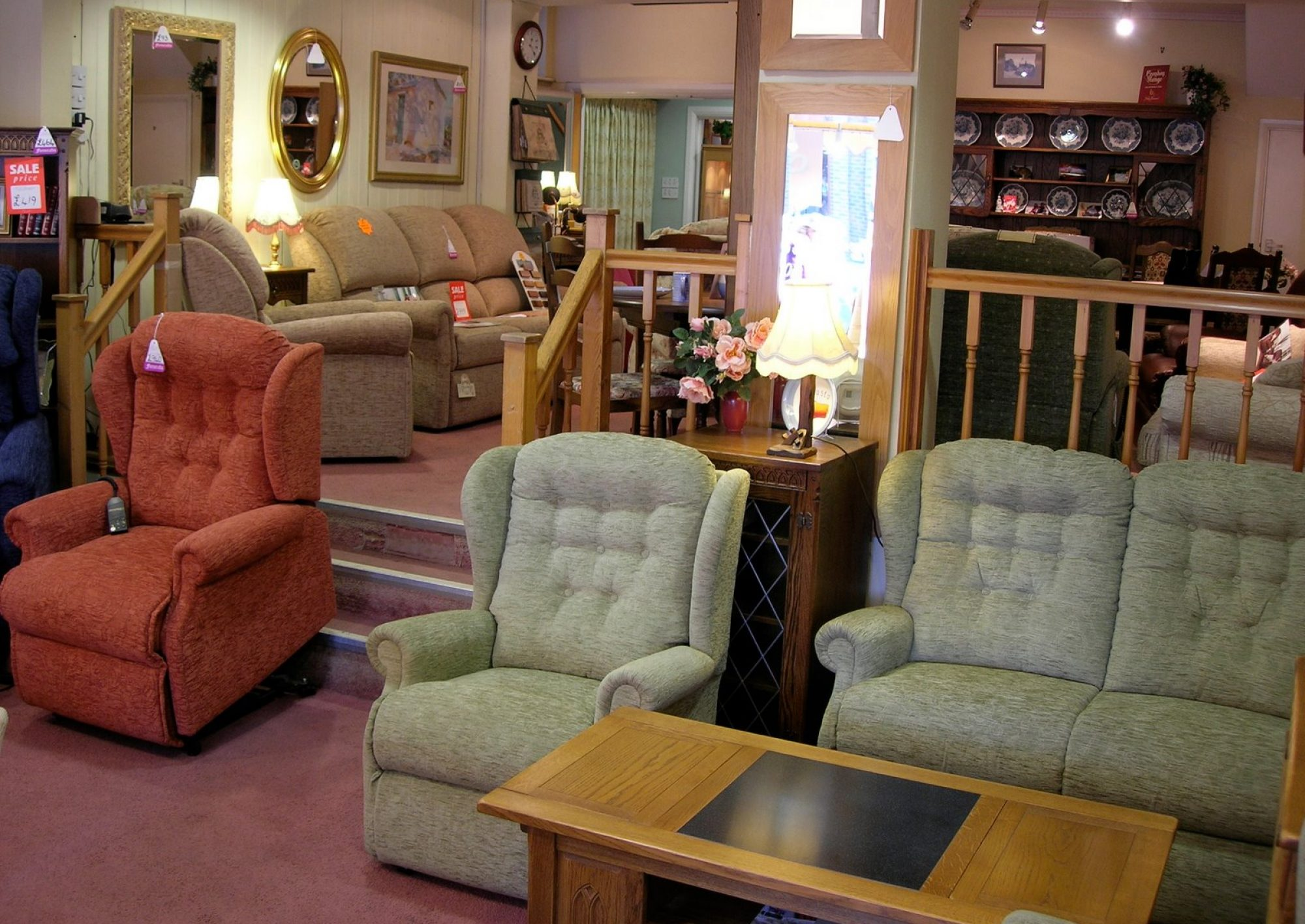 Quality Upholstery and Oak Furniture