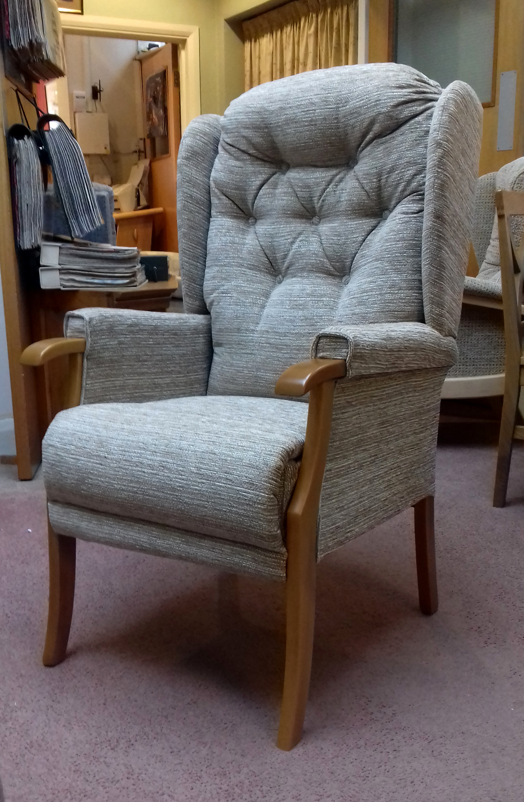 homes recliners adam gardens chairs dorel recliner furniture adams better details seen products on living eng designing cognac pushback spaces as and